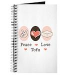Peace Love Tofu Journal