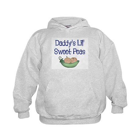 Daddy's Lil' Sweet Peas Kids Hoodie