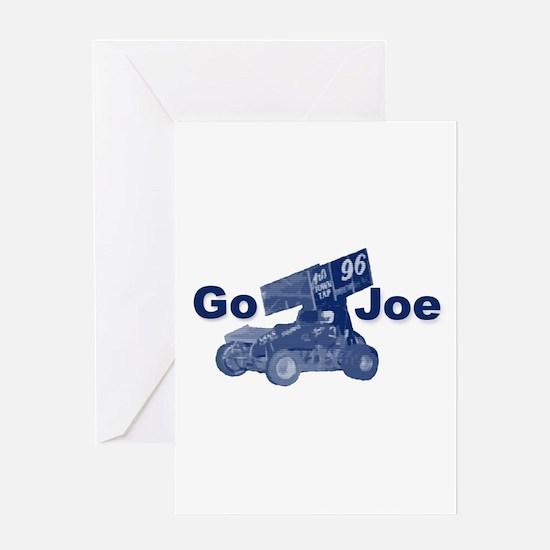 blue Go Joe Greeting Card