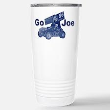 blue Go Joe Stainless Steel Travel Mug