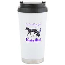Bred in the Purple Stainless Steel Travel Mug