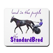 Bred in the Purple Mousepad