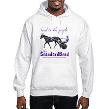 Bred in the Purple Hoodie