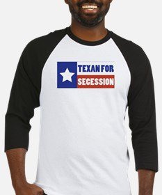 Texan for Secession Baseball Jersey
