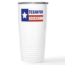 Texan for Secession Travel Coffee Mug