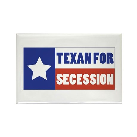 Texan for Secession Rectangle Magnet