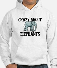 Crazy About Elephants Hoodie
