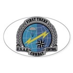 Combat Control Team Oval Sticker (10 pk)