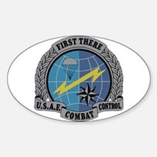 Combat Control Team Oval Decal