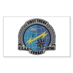 Combat Control Team Rectangle Sticker
