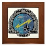 Combat Control Team Framed Tile