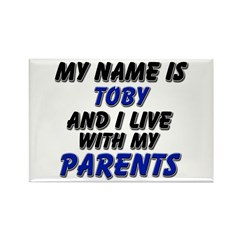 my name is toby and I live with my parents Rectang