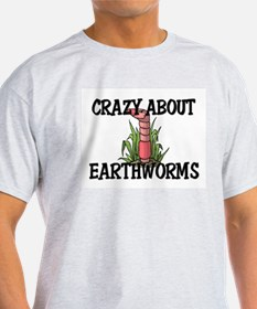 Crazy About Earthworms T-Shirt