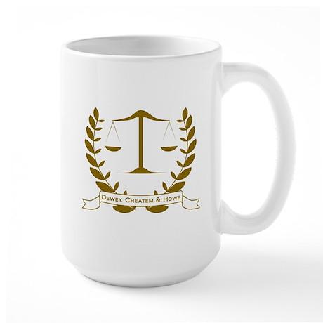Dewey Cheatem & Howe Large Mug