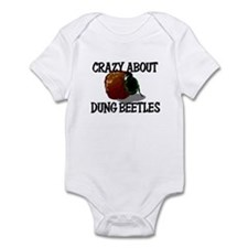 Crazy About Dung Beetles Infant Bodysuit