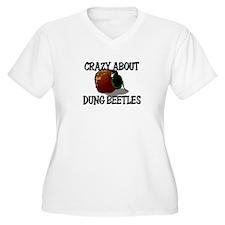 Crazy About Dung Beetles T-Shirt