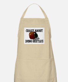 Crazy About Dung Beetles BBQ Apron