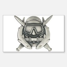Combat Diver Rectangle Decal