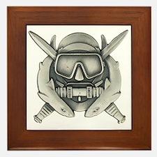 Combat Diver Framed Tile