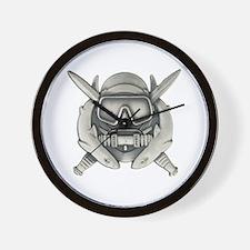Combat Diver Wall Clock