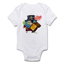 Cute Pirate Infant Bodysuit