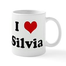 I Love Silvia Mug
