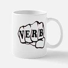Fist Can Be a Verb Mug