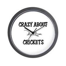 Crazy About Crickets Wall Clock