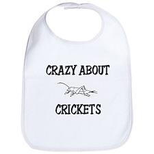 Crazy About Crickets Bib