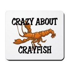 Crazy About Crayfish Mousepad