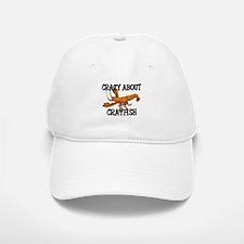 Crazy About Crayfish Baseball Baseball Cap