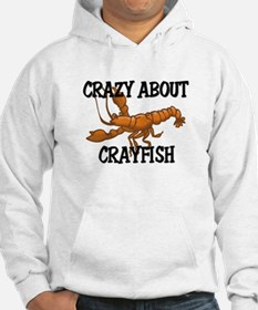 Crazy About Crayfish Hoodie