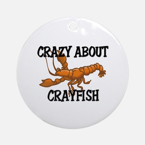 Crazy About Crayfish Ornament (Round)