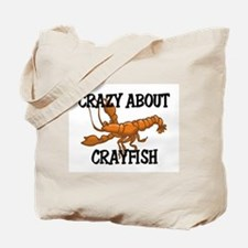Crazy About Crayfish Tote Bag
