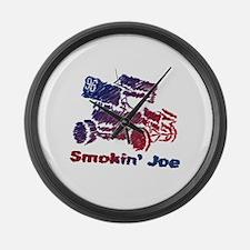 Smokin' Joe Large Wall Clock