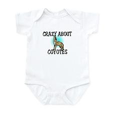 Crazy About Coyotes Infant Bodysuit