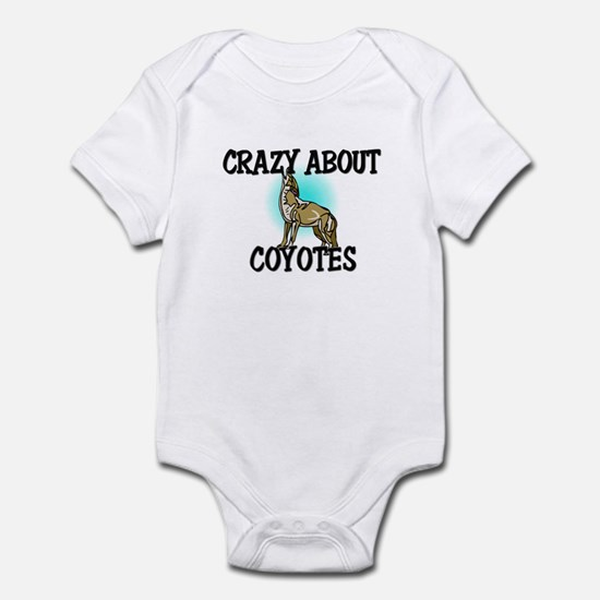 Crazy About Coyotes Infant Bodysuit