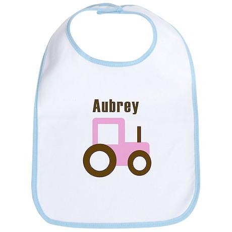 Aubrey - Pink Tractor Bib