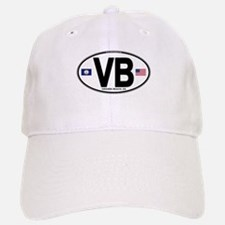 Virginia Beach VB Oval Baseball Baseball Cap