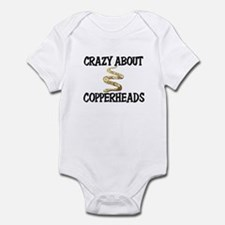 Crazy About Copperheads Infant Bodysuit