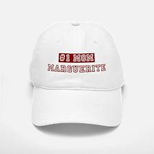 Marguerite #1 Mom Baseball Baseball Cap