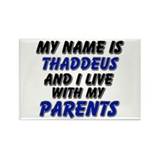 my name is thaddeus and I live with my parents Rec