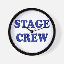 Unique Stage crew Wall Clock