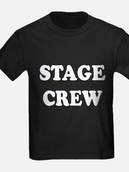 stage crew white T-Shirt