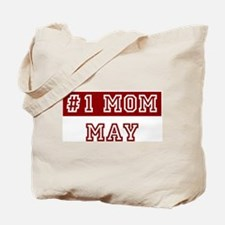 May #1 Mom Tote Bag
