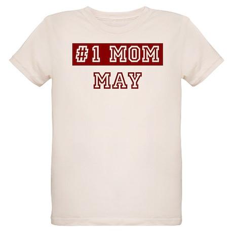 May #1 Mom Organic Kids T-Shirt