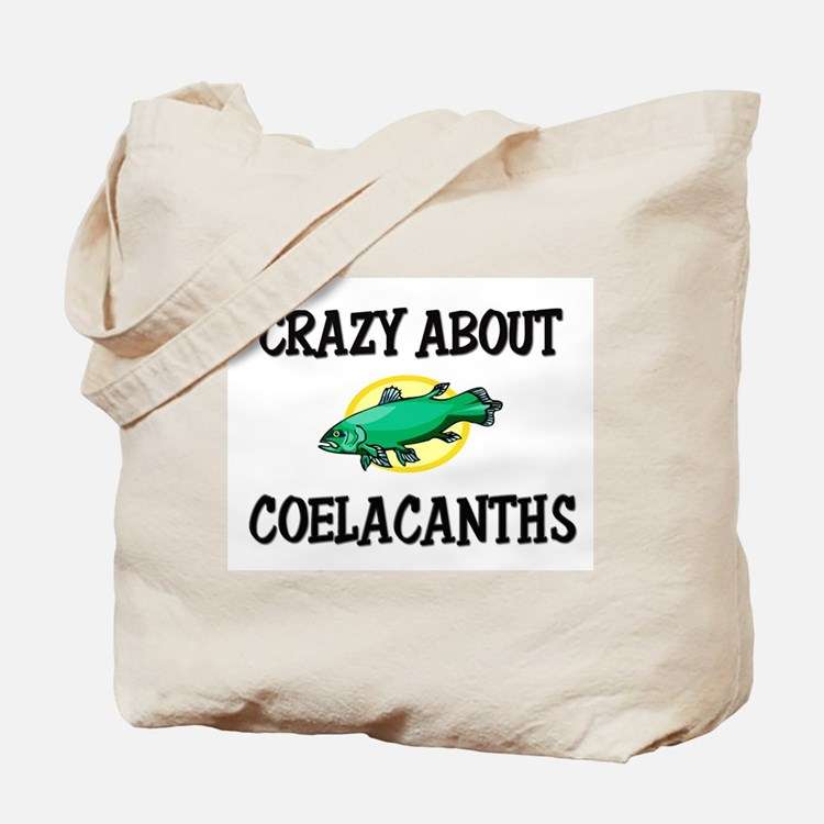 Crazy About Coelacanths Tote Bag
