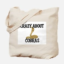 Crazy About Cobras Tote Bag