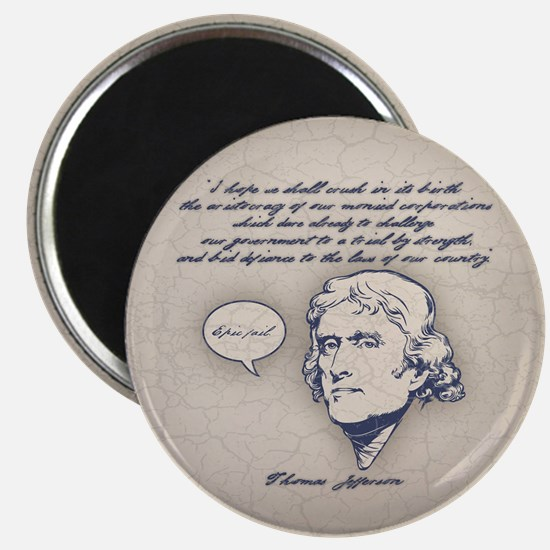 Jefferson-Epic Fail Magnet