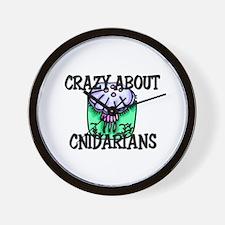 Crazy About Cnidarians Wall Clock